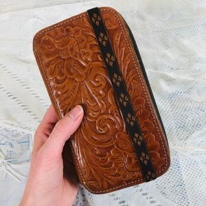 Patricia Nash tooled leather wallet [used]